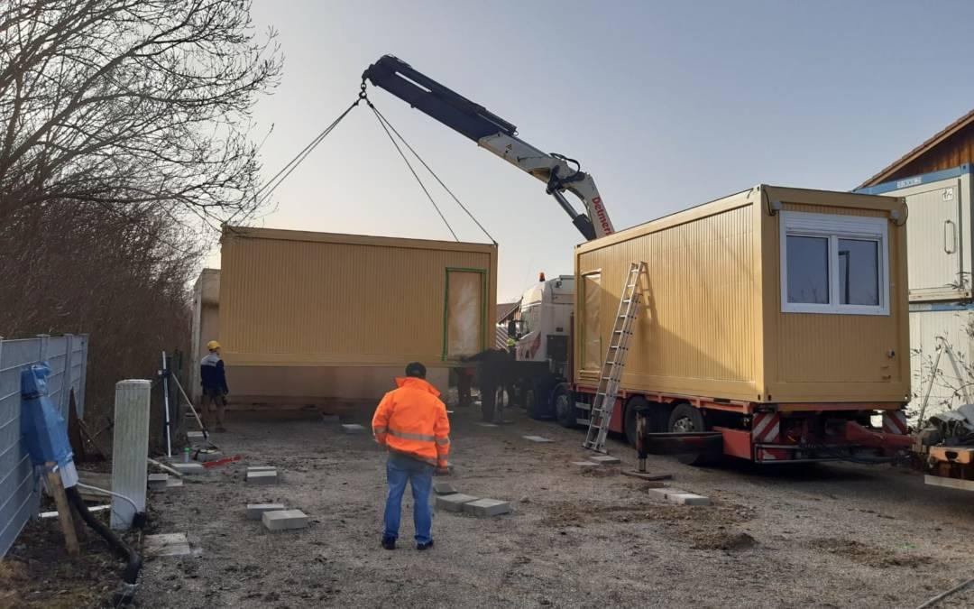 Wohncontaineranlage in Aschheim erfolgreich fertiggestellt